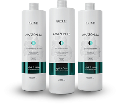 Amazonliss Brazilian Keratin Hair Straightening/Smoothing Treatment Kit