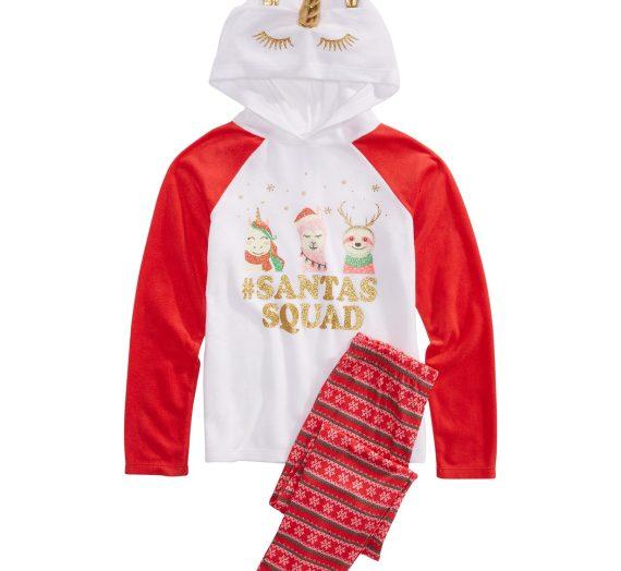 Pajamas For The Family $19.99 an Under at Macy's! #MacysSweetDreams