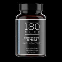 180 Pure CBD Softgels with Melatonin