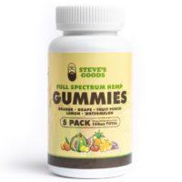 Steve's Goods CBD Gummies - 30mg per Gummy to offer you a relaxing little treat.