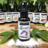 EVO3 CBD Topical Spray