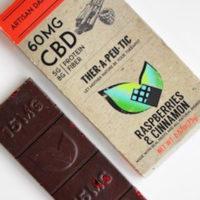Therapeutic Treats Raspberries & Cinnamon CBD Chocolate Bar • CBD Oil Solutions