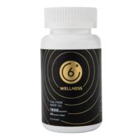 6 Degrees Wellness Pure CBD Softgels
