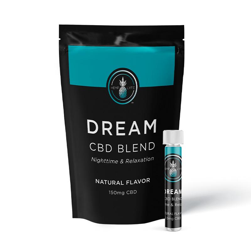 Hemp Lyfe Dream Blend   CBD Powder Packs 10CT