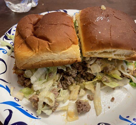 Big Mac Inspired Sliders #AuntMillies #SunsOutBunsOut