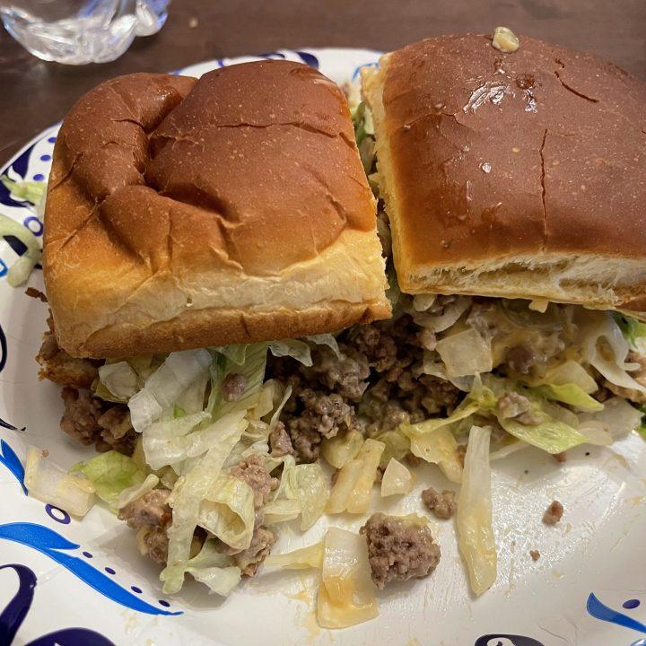 Big Mac Inspired Sliders