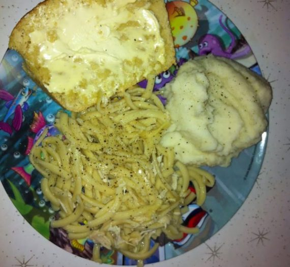 Chicken & Noodles, Cold Weather, and Kids