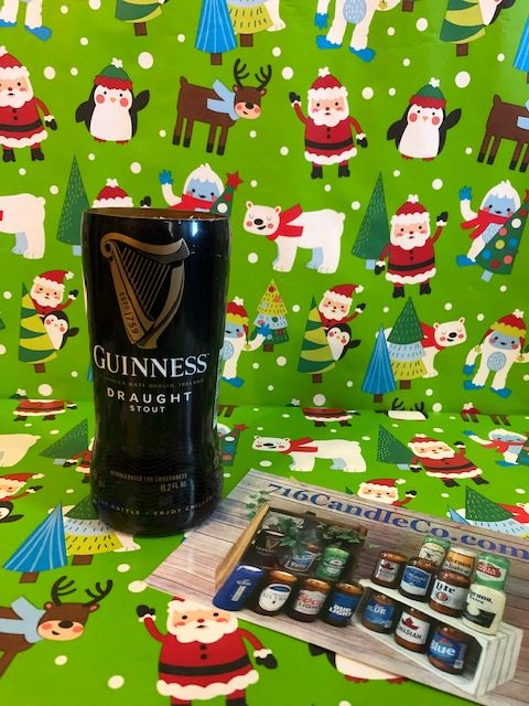 Guinness Draught Glass Beer Bottle Soy Wax Candle