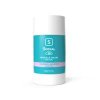 Social CBD Calming Lavender Muscle Balm Stick