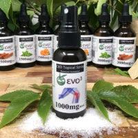 EVO3 CBD Topical Spray