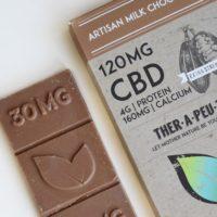 Therapeutic Treats Extra Strength Milk Chocolate CBD Chocolate Bar • CBD Oil Solutions