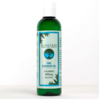 Aleafiate CBD Calming Massage Oil | 600mg CBD