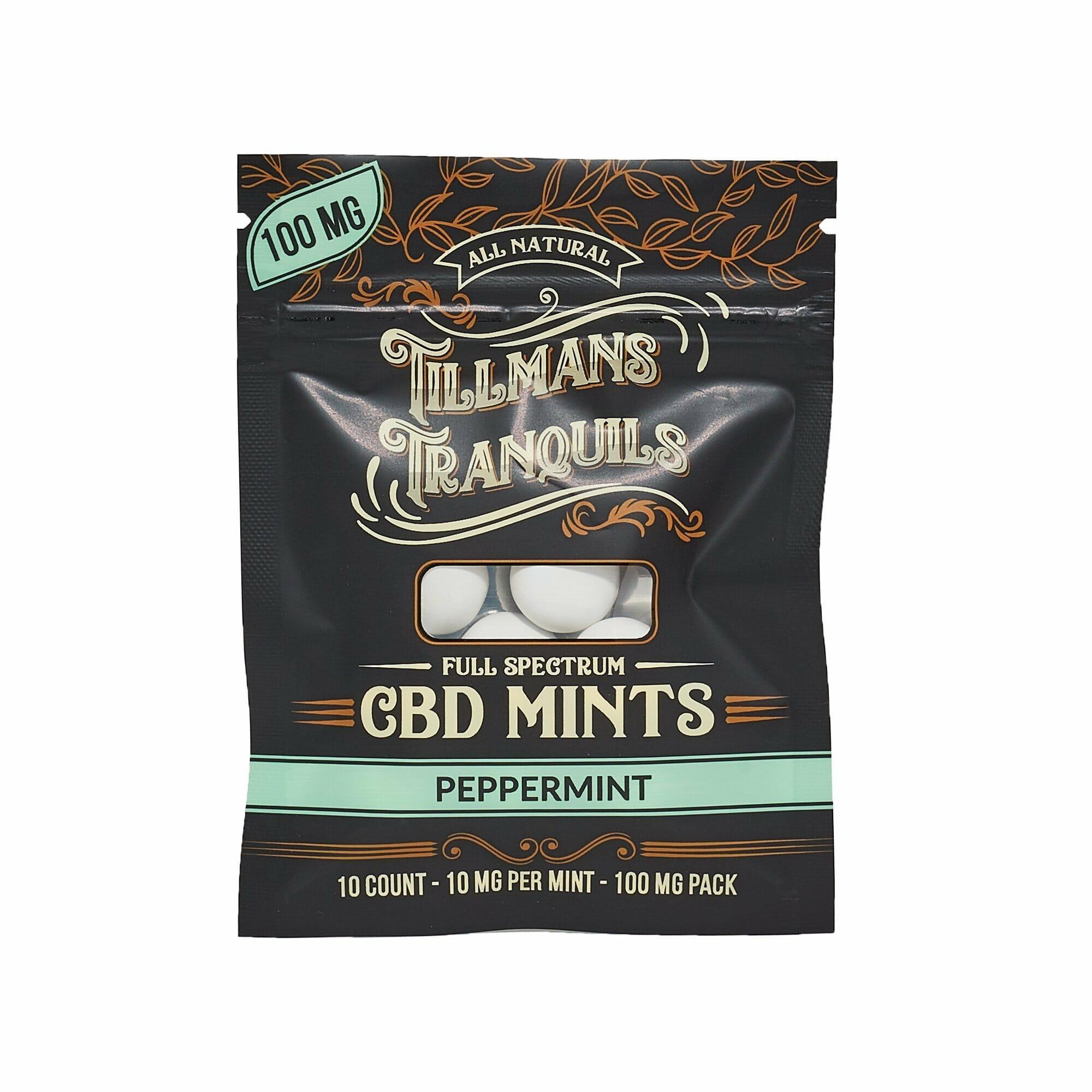 Peppermint Full Spectrum CBD Mints