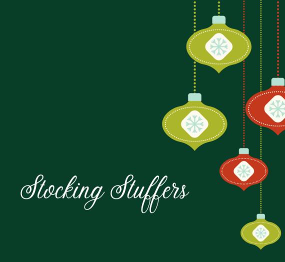 Stocking Stuffers #HGG2020